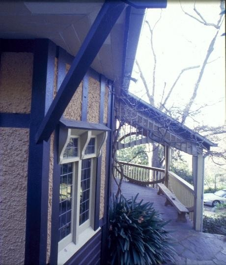 chadwick house the eyrie eaglemont south west verandah she project 2003
