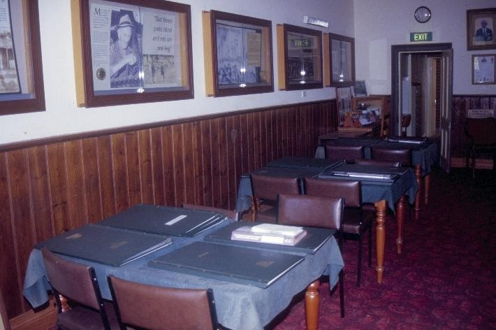 chewton town hall pyrenees highway chewton interior she project 2003