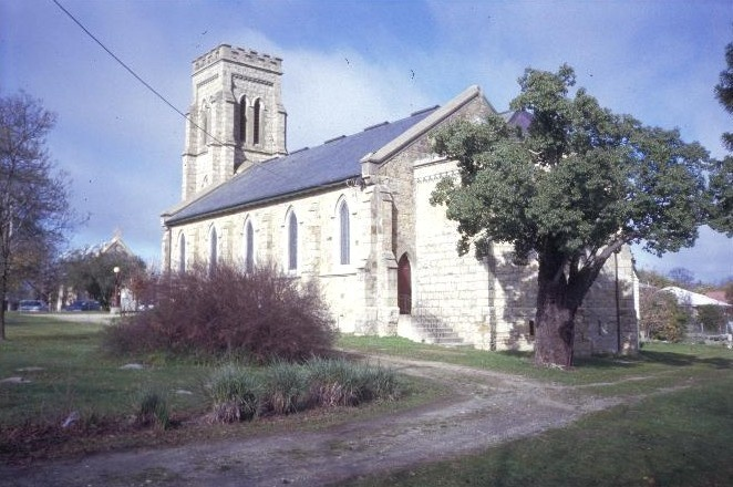 christ church ford street beechworth rear exterior she project 2003