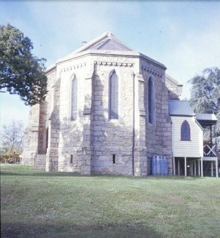 christ church ford street beechworth sanctuary she project 2003