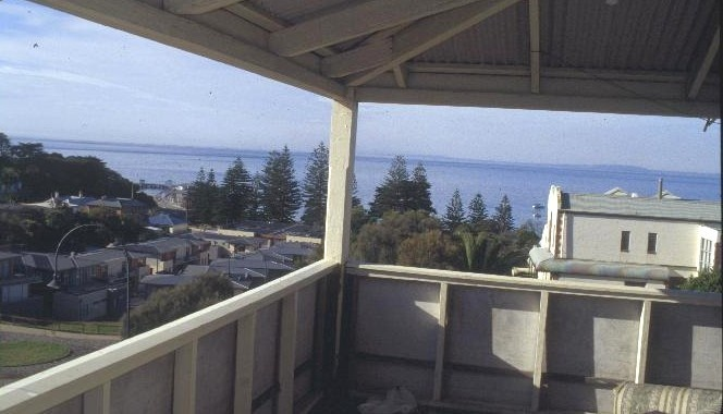 cotinental hotel ocean beach road sorrento top floor view she project 2003