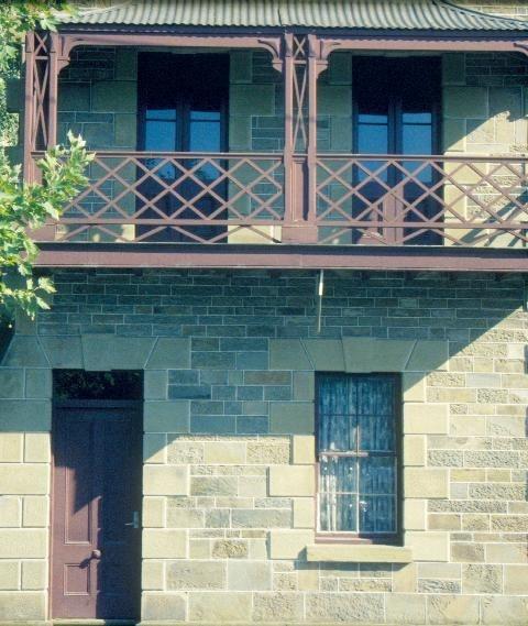 cottages hargraves street bendigo close up view