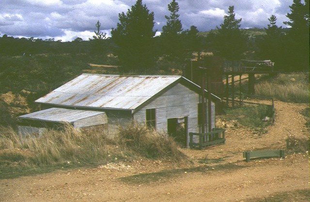 forest creek tourist gold mine castlemaine chewton road castlemaine rear view of building