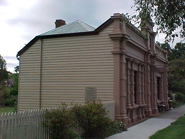 former library buninyong side elevation 2002