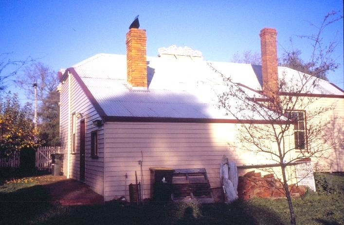 former library warrenheip road buninyong rear view she project 2003