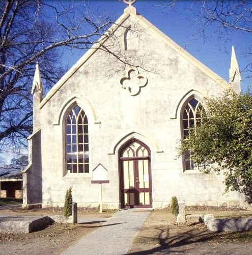 h00523 former methodist church ford st beechworth view from ford st she project 2003