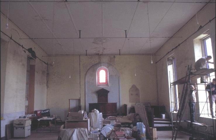 h00850 former st andrews presbyterian church and manse william st port fairy church interior she project 2003