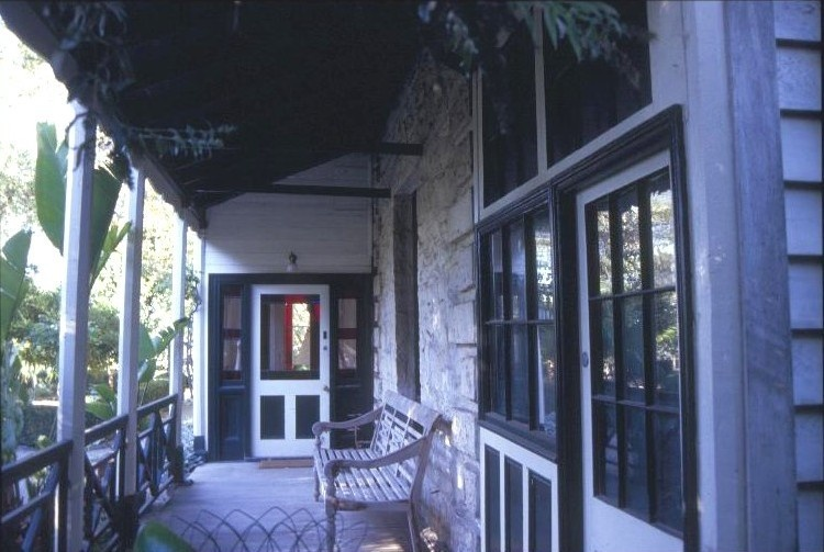 h00229 former presbyterian manse lyons st williamstown front verandah she project 2003