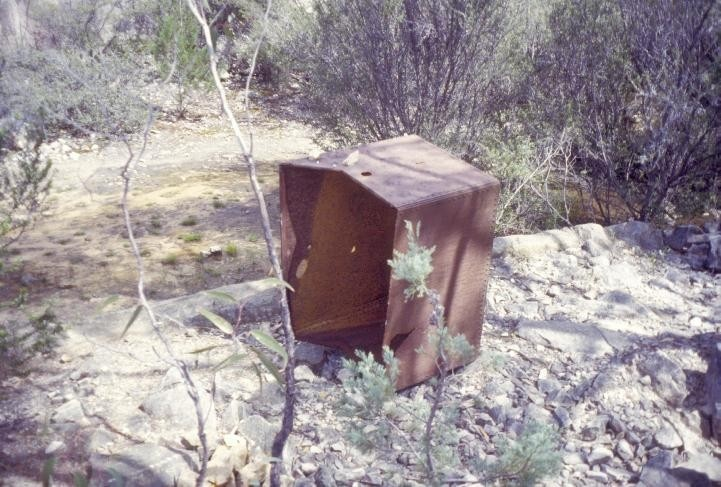 h01556 heatherlie quarry grampians national park halls gapp bailer she project 2004