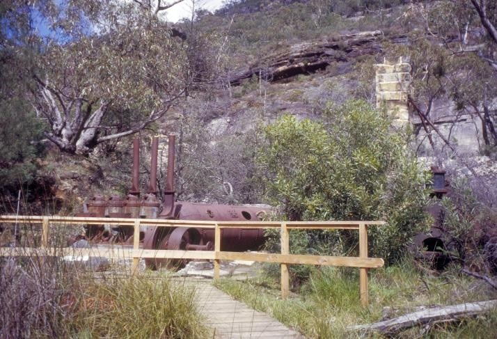 h01556 heatherlie quarry grampians national park halls gapp boilers chimney compresser she project 2004