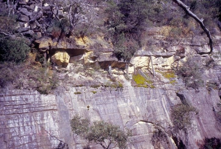 h01556 heatherlie quarry grampians national park halls gapp timber supports she project 2004