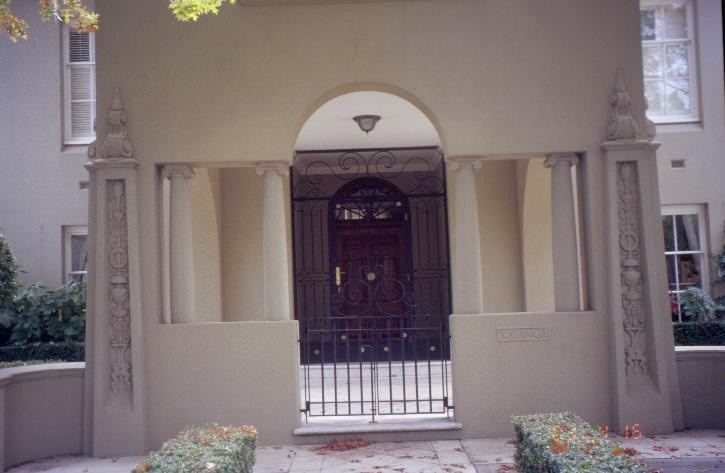 h00935 katanga glenferrie raod malvern front gate she project 2003