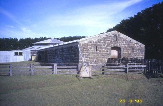 h00324 kolor woolshed penshurst warrnambool road penshurst exterior entrance she project 2003