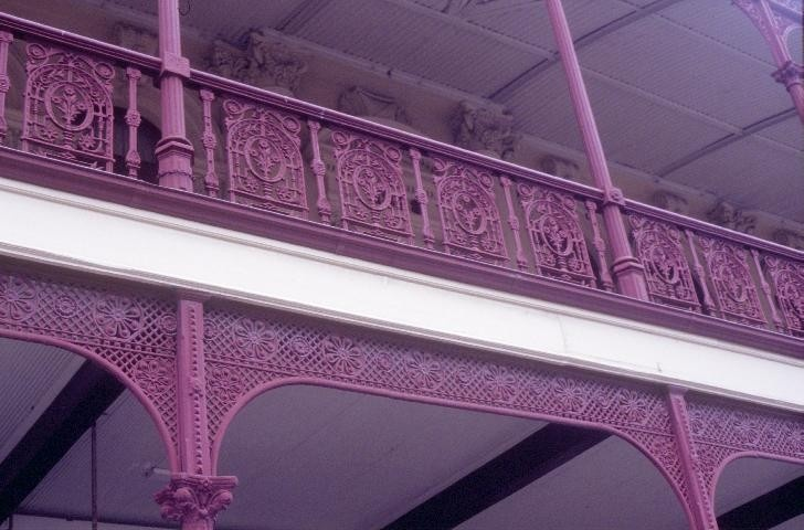 h00116 old colonists hall lydiard street north ballarat iron lace work she project 2004