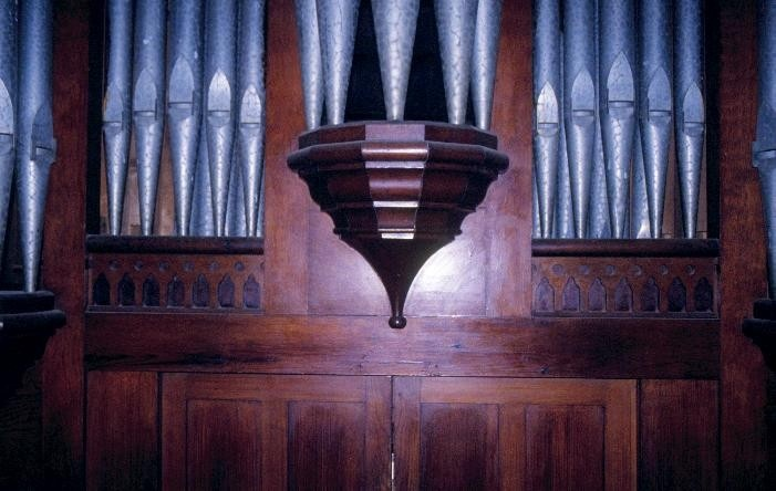 h01280 pipe organ st augustines anglican church sullivans st inglewood close up she project 2003