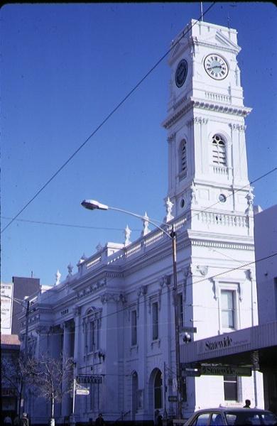 h00203 prahran town hall prahran exterior view