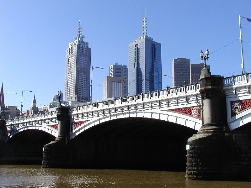 h01447 princes bridge st kilda road over yarra river melbourne long view she project 2004