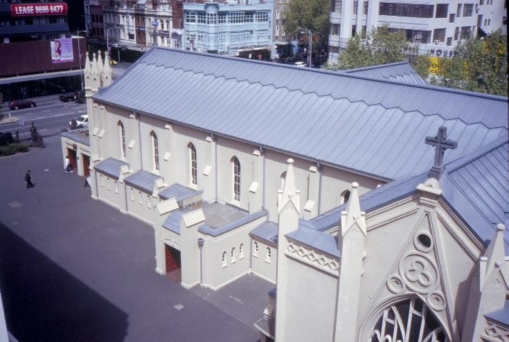 h00013 st francis catholic church lonsdale st melbourne roof she project 2003