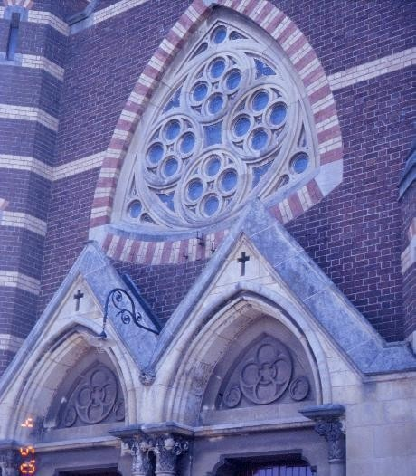 h00864 st georges uniting church chapel street st kilda detail external she project 2003
