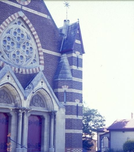 h00864 st georges uniting church chapel street st kilda south side turret she project 2003