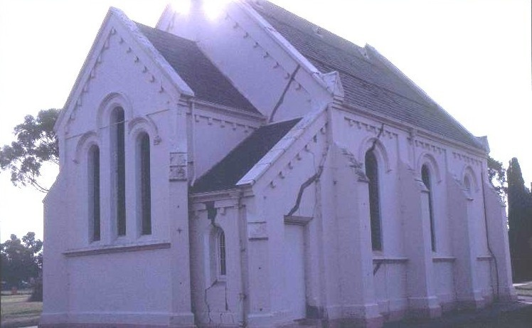 h00599 st marks anglican church albert st rosedale south eastern profile she project 2003