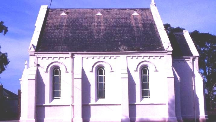 h00599 st marks anglican church albert st rosedale western profile she project 2003