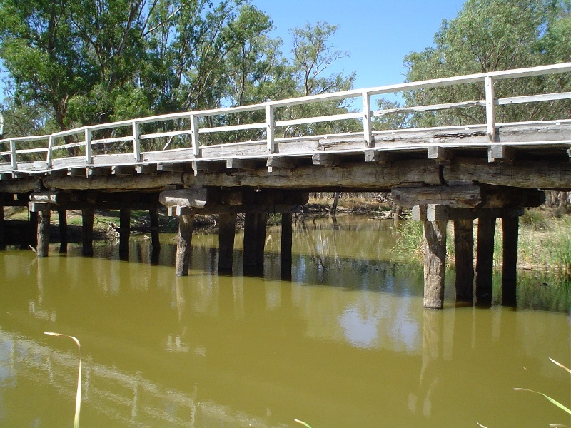 h01850 1 danns bridge over bet bet creek dunolly eddington road eddington close view she project 2004