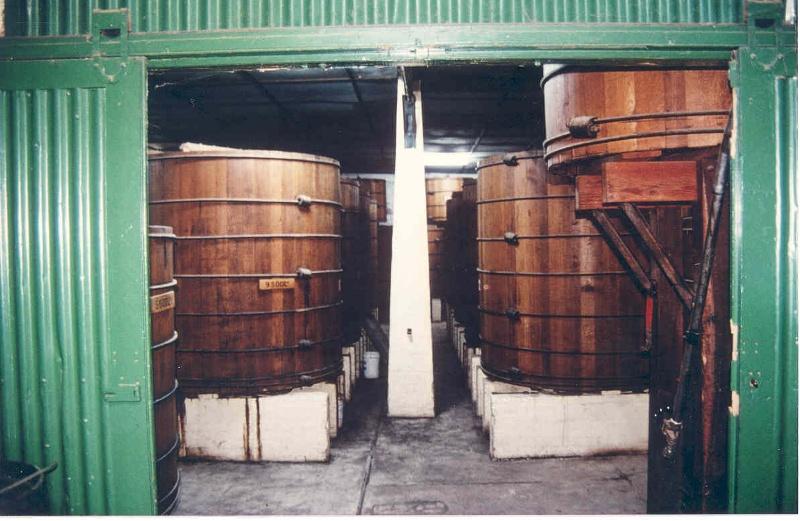 h01099 mildara blass distillery merbein brandy store