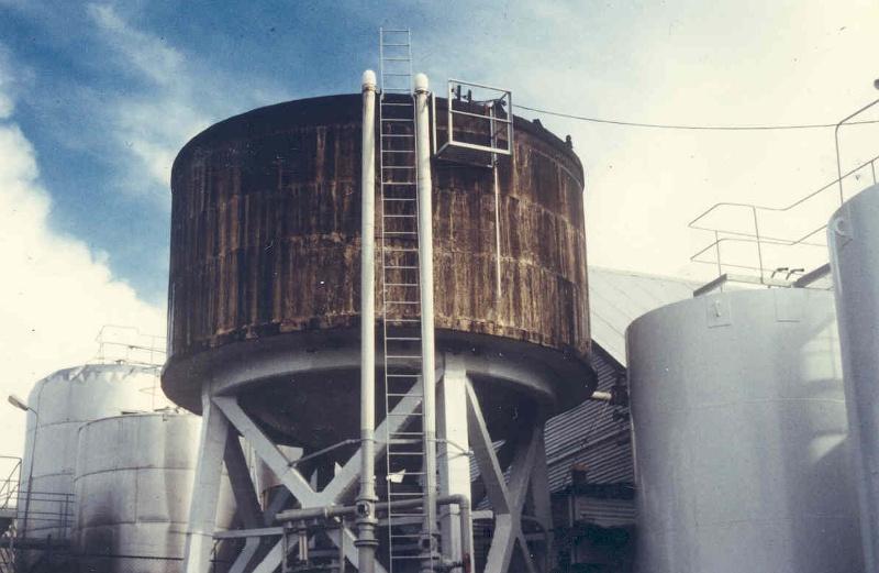h01099 mildara blass distillery merbein water tank