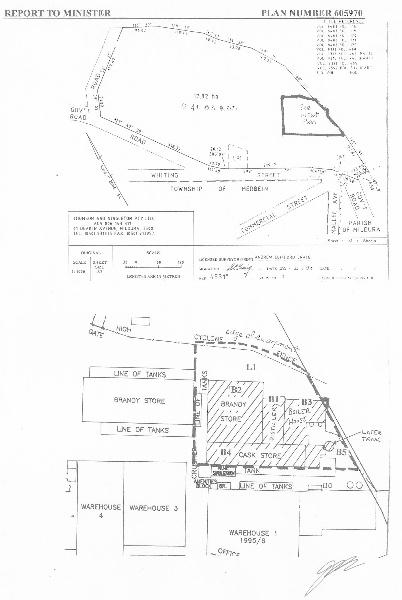 h01099 mildara blass distillery merbein plan