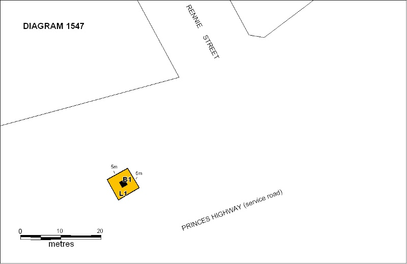 h01547 h1547 hume and hovell lara plan