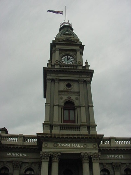 h00147 fitzroy town hall napier street fitzroy clock tower she project 2004
