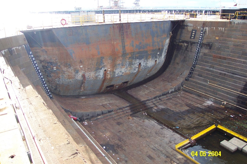 h00697 alfred graving dock williamstown dockyard williamstown close up she project