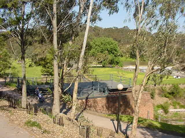 h01522 1 dights mill site dights falls yarra river abbotsford she project 2004