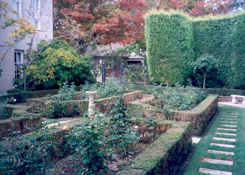 h00935 katanga glenferrie road malvern garden she project 2003