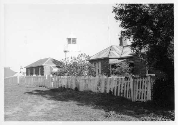 h01520 lady bay lighthouse complex 1962