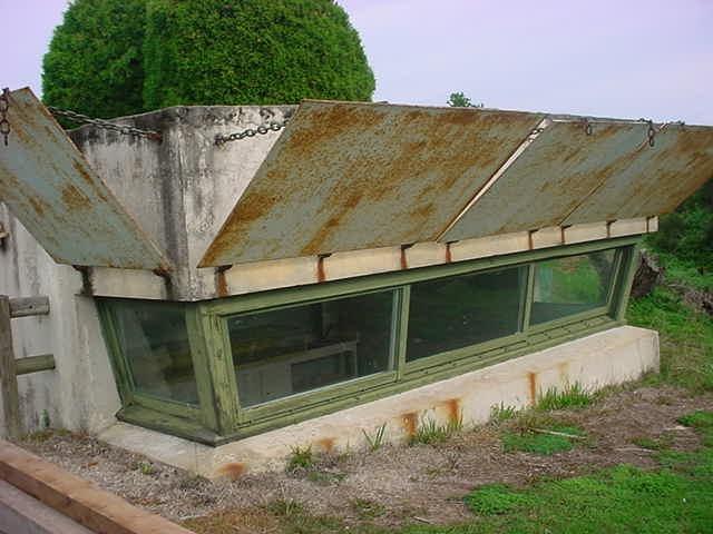 h01090 fort franklin portsea bunker observation post 01 0604 js