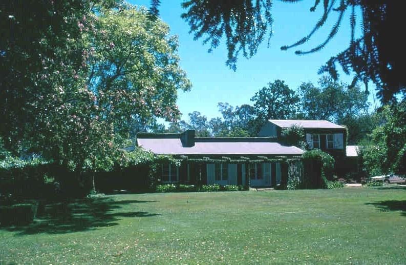 h00296 h296 chateau tahbilk house