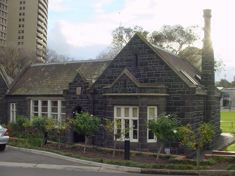 h00019 melbourne grammar school st kilda road melbourne lodge south elevation she project 2004