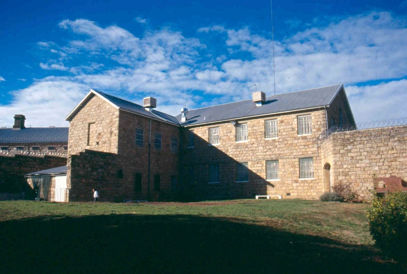 h01549 h m prison william street beechworth exterior kitchen and office wing june2004