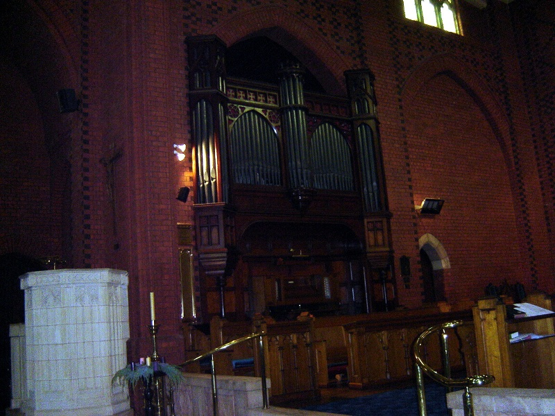 h01065 holy trinity anglican cathedral precinct wangaratta willis organ and pulpit 2005