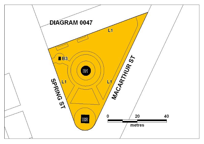 h00047 gordon reserve spring street melbourne plan