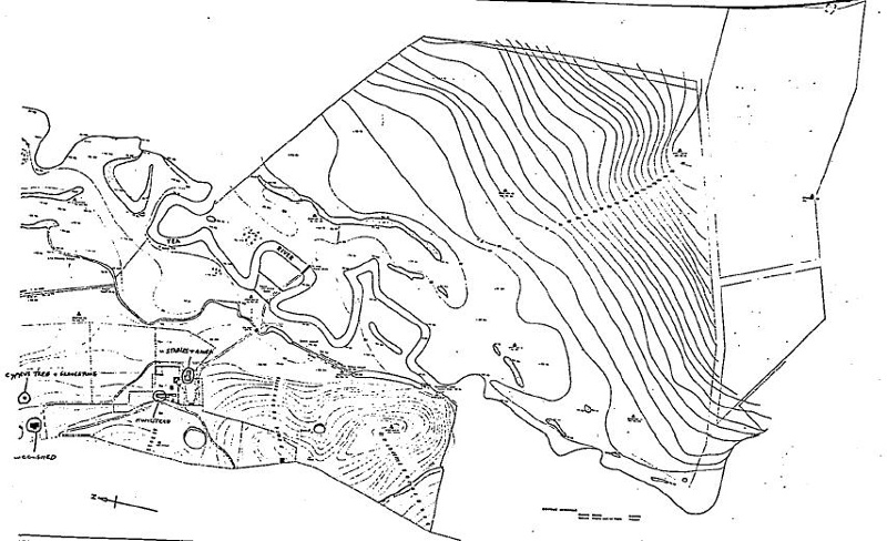 murrindindi station melba hwy - topographic map