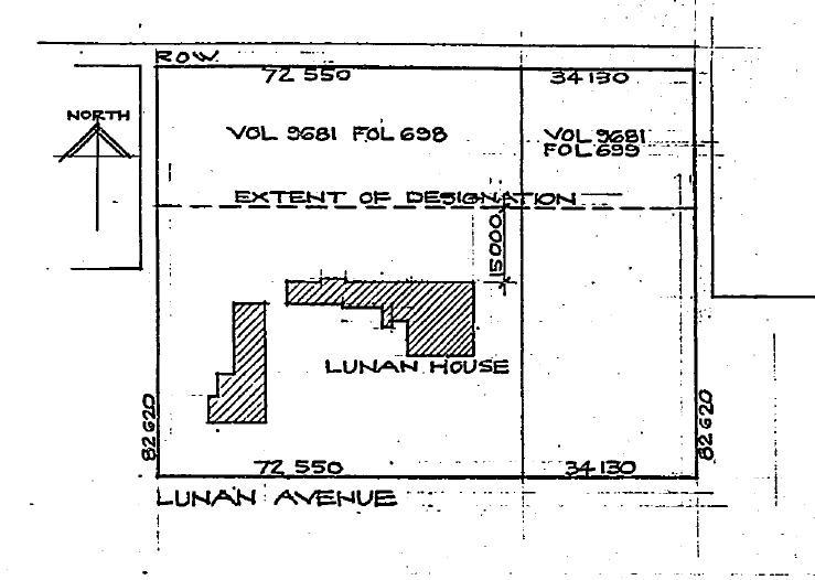 Lunan House plan