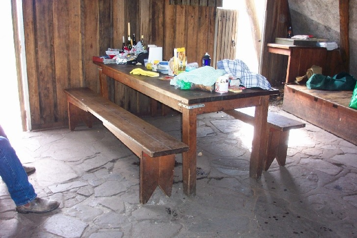 h00046 gantner hut table and benches feb2005 as 007