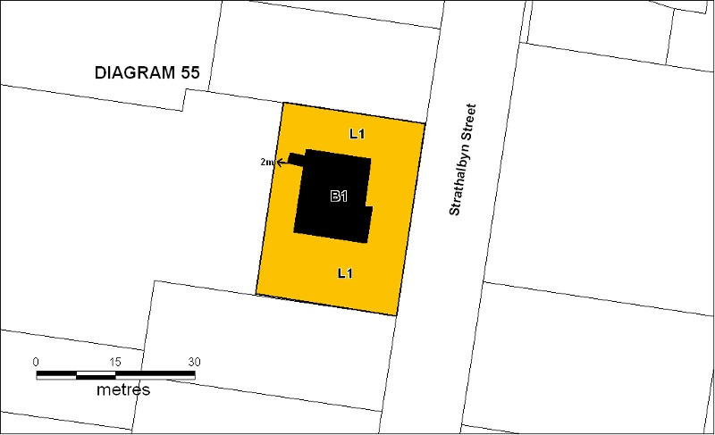 h00055 kew east baby health centre plan