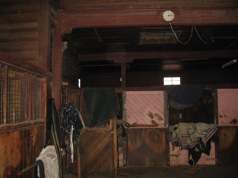 h00071 lord lodge stables interior may 05