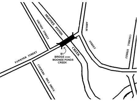 h01455 bridge over moonee ponds creek westmeadows plan