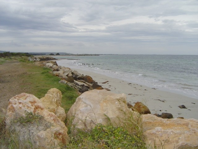 Convincing Ground foreshore
