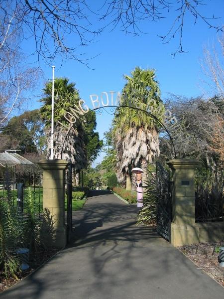 H2095 Geelong Bot Gardens 8.2005 Entry Gates